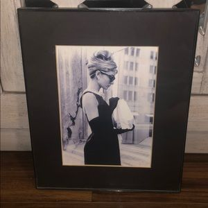 Other - Audrey Hepburn with frame